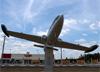 Aermacchi/Embraer EMB-326GB Xavante (AT-26), FAB 4627, da Força Aérea Brasileira exposto em São Carlos (SP). (03/11/2013)