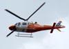 Agusta AW119MKII Koala, PP-AMI, da Amil Resgate Aéreo sobrevoando São Paulo. (05/04/2011)