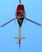 Eurocopter AS-350B2 Esquilo, PP-EOY, Águia 10 da Polícia Militar do Estado de São Paulo, sobrevoando São Carlos. (05/09/2009)