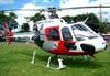 Eurocopter/Helibrás AS-350BA Esquilo, PP-EOJ, Águia 6 da Polícia Militar do Estado de São Paulo, pousado no Estádio Rui Barbosa em São Carlos. (12/03/2009)