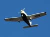 Piper/Embraer EMB-712 Tupi, PT-NXW, da Mariano Escola de Aviação, sobrevoando São Carlos. (14/04/2007) Foto: Rodrigo Zanette