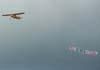 Cessna 170A (PT-ALD) da MB Publicidade sobrevoando São Carlos. (15/12/06)