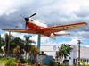 Embraer EMB-312 (T-27 Tucano), FAB 1374, da AFA (Academia da Força Aérea - Brasil), exposto em Pirassununga (SP). (18/12/2012)