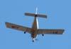 Piper PA-28-180 (Cherokee 180), PT-JJN, sobrevoando São Carlos. (20/11/2008)