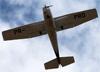 Cessna 172N Skyhawk, PR-PRD, da Fenix Escola de Aviação. (20/11/2014)
