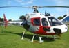 Eurocopter AS-350 BA, PP-EOI, Águia 5 da Polícia Militar, pousado no Estádio Rui Barbosa, em São Carlos. (21/12/2007)