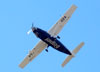 Cessna 208B Super Cargomaster, PT-OZA, da TWO Táxi Aéreo (operado para a jadLog) sobrevoando São Carlos. (25/04/2012)