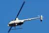 Robinson R44 Astro Newscopter, PT-YYD, sobrevoando São Paulo. (26/03/2009)