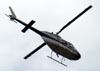 Bell 206B Jet Ranger II, PT-YTP, sobrevoando São Paulo. (24/03/2011)