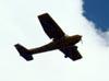 Cessna A152 Aerobat, PR-LAL, do Aeroclube de Jundiaí, sobrevoando Jundiaí. (25/03/2011)