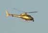Eurocopter/Helibras AS-350B2 Esquilo, PR-REC, da TV Record, sobrevoando São Carlos. (07/05/2010)