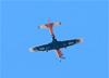 Embraer EMB-312 (T-27 Tucano), FAB 1361, da AFA (Academia da Força Aérea), sobrevoando São Carlos (SP). (24/08/2017)