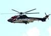 Eurocopter EC-225 LP, PR-PLL, da Aeróleo Táxi Aéreo, decolando da Helibras, em Itajubá (MG). (19/03/2010)