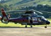 Eurocopter AS-365N2 Dauphin, PP-EPO, do Governo do Estado de Minas Gerais, pousado na Helibras, em Itajubá (MG). (19/03/2010)