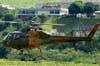 Eurocopter/Helibras AS-355F2 Fennec (H-55), FAB 9911, do Grupo de Ensaios em Voo, decolando da Helibras, em Itajubá (MG). (19/03/2010)