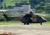 Eurocopter AS-331M1 Super Puma (H-34), FAB 8733, da Força Aérea Brasileira, pousado na Helibras, em Itajubá (MG). (19/03/2010)