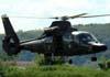 Eurocopter/Helibras AS-565AA Panther (HM-1), EB 2006, do Exército Brasileiro, decolando da Helibras, em Itajubá (MG). (19/03/2010)