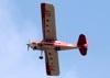 American Champion 7GCBC Citabria, PT-IZF, da Air Mídia Publicidade Aérea, sobrevoando São Carlos (SP). (20/09/2016)