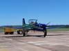 T-27 Tucano, número 1, do EDA.
