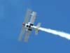 Apresentação do Brazilian Wingwalking Airshows - Pedrinho Melo e Marta Bognar.