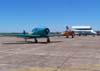 Da esquerda para a direita: T-6s da Esquadrilha OI e R-99B da FAB.