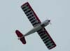 Tike Bazaia se apresentando com o American Champion 8KCAB, Super Decathlon, PP-TZS, aeronave do Aeroclube de Itu.