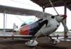 Christen Eagle II, PP-ZMG, que seria pilotado pelo comandante Marcos Geraldes, o Marcão, se a chuva deixasse.