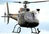 Eurocopter/Helibrás HB-350 Esquilo, designado pela FAB como H-50, FAB 8787, da Academia da Força Aérea.