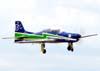 Aeromodelo baseado no Embraer EMB-312, T-27 Tucano, da Esquadrilha da Fumaça.