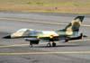 Aeromodelo a jato baseado no Lockheed Martin F-16 Fighting Falcon.