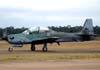 Embraer EMB-314 Super Tucano, designado A-29B pela Força Aérea Brasileira, prefixo FAB 5712.