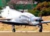 Embraer EMB-312, T-27 Tucano, da Força Aérea Brasileira.