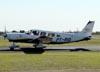 Piper/Neiva EMB-720D Minuano, PT-RID, usado para apoiar o piloto Tike Bazaia.