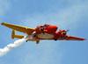 Beechcraft E18S, PT-DHI, do Circo Aéreo.