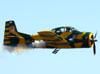 North American T-28B Trojan, PP-ZFE, do Instituto Arruda Botelho.