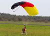 Paraquedista do Circo Aéreo. (11/08/2013)