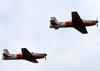 Dois Embraer EMB-312 (T-27 Tucano) da Academia da Força Aérea. (11/08/2013)