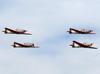 Quatro Neiva T-25 Universal da Academia da Força Aérea. (11/08/2013)