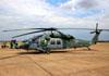 Sikorsky S-70A Black Hawk (H-60L), FAB 8913, da FAB (Força Aérea Brasileira). (17/08/2014) Foto: Ricardo Rizzo Correia.
