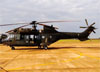 Eurocopter AS532UE Cougar (HM-3), EB 4006, do Exército Brasileiro. (17/08/2014) Foto: Gilberto Kindermann.