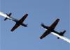 Embraer EMB-314 Super Tucano (A-29), da Esquadrilha da Fumaça (EDA - Esquadrão de Demonstração Aérea) da FAB (Força Aérea Brasileira). (23/08/2015)