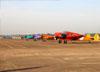 Beechcraft E18S, PT-DHI, do Circo Aéreo. (13/08/2017)