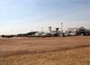 Vista do pátio de estacionamento da AFA durante o Domingo Aéreo. (13/08/2017)