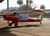 Aero Boero AB-180, PP-GCL, do Aeroclube de Pirassununga. (13/08/2017)