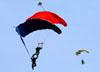 Paraquedistas do Circo Aéreo. (13/08/2017)