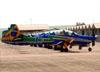 Embraer EMB-314 Super Tucano (A-29A), FAB 5719, da Esquadrilha da Fumaça. (13/08/2017)