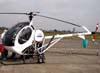 Schweizer 269C-1, PR-HEL, da Edra Aeronáutica. (05/07/2009) Foto: Ricardo Frutuoso.