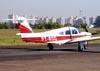 Piper/Neiva EMB-711ST Corisco II Turbo, PT-ROG. (19/06/2010) Foto: Ricardo Frutuoso.