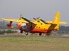 Grumman HU-16A Albatross, PP-ZAT (Ex-FAB 6535), do Circo Aéreo (Esquadrilha Oi). (19/06/2010) Foto: Ricardo Frutuoso.