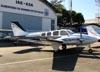 Beechcraft 58 Baron. (16/07/2011) Foto: Ricardo Rizzo Correia.
